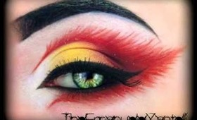 Fire's Fairy - Make Up Tutorial (inspired by KlaireDeLysArt) Carnevale