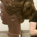 Basket Weave With Updo