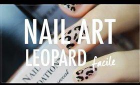 [Tuto Facile] Nail Art Gold Leopard