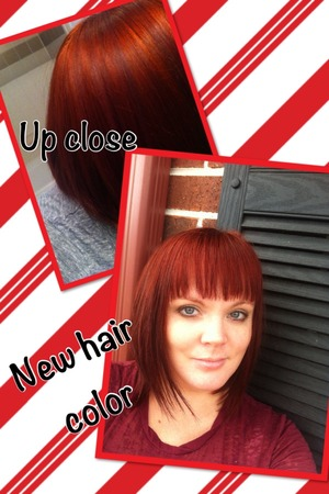 Used Wella hair color