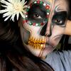 Two faced sugar skull!