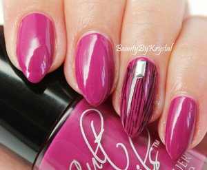 "Cult Nails Radiance from the ""Spring Radiance"" trio. http://www.beautybykrystal.com/2014/06/cult-nails-its-new-day-spring-radiance.html"
