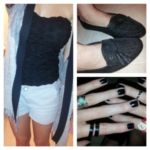 my outfit for this rain day(:! lemme know what you think