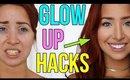 BEAUTY HACKS FOR GIRLS 2017 : Glow Up Hacks!