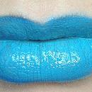 Turquoise lips
