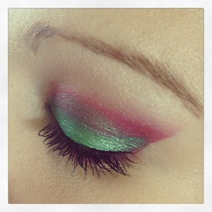 A look using sugar pill cosmetics and the vice palette