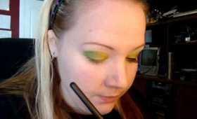 Light Green to Medium Green Makeup Tutorial
