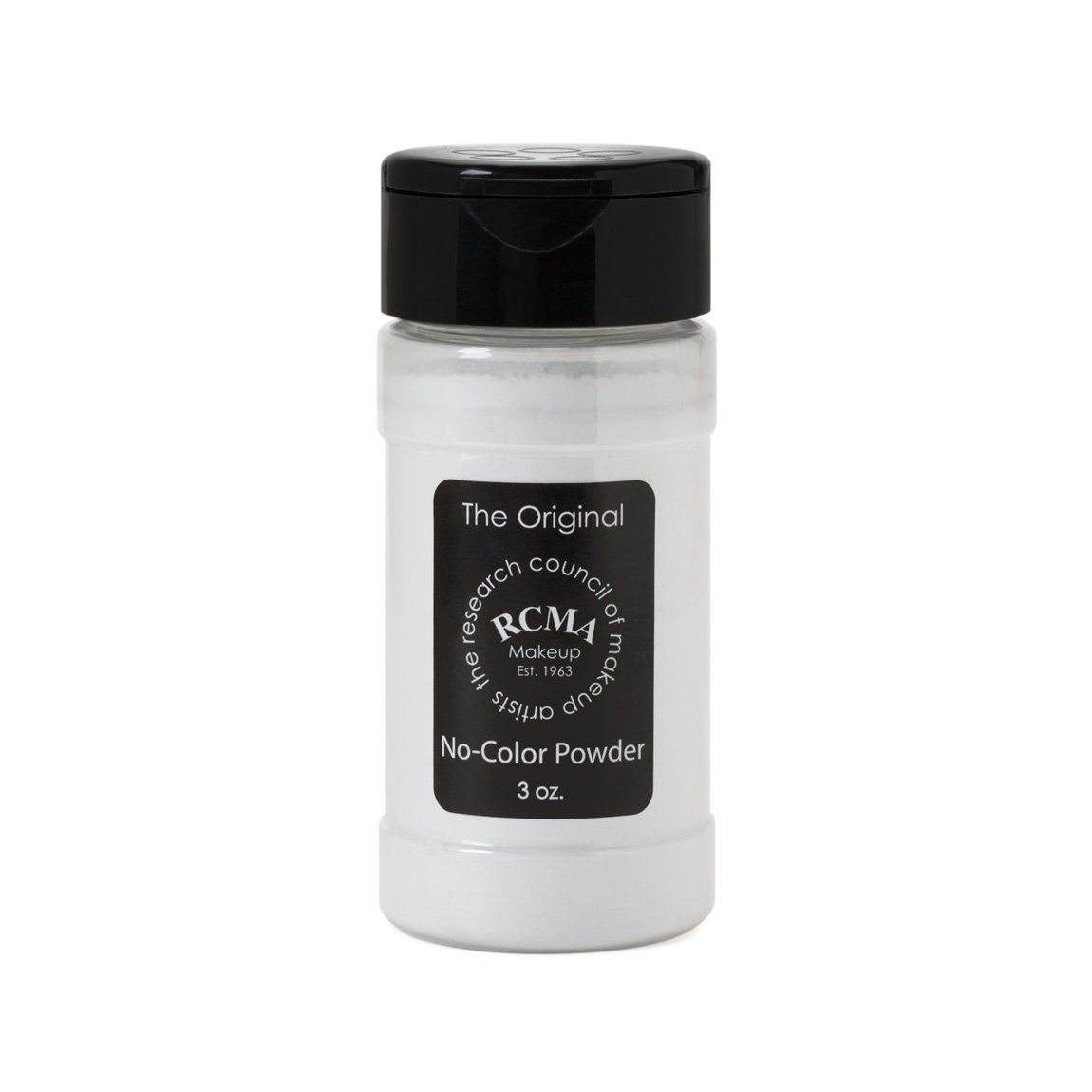 RCMA Makeup No Color Powder 3 oz. product smear.