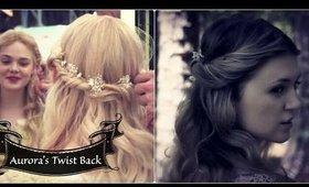 Disney's Maleficent: Aurora Twist Back Halfup Curl
