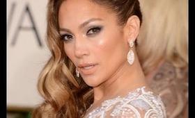Golden Globes 2013 Red Carpet : Jennifer Lopez inspired make-up tutorial