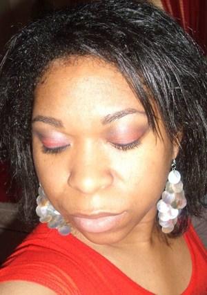 Red Smokey Eye