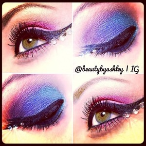 To see this look and more, check out my Instagram @beautybyashley ☺💜