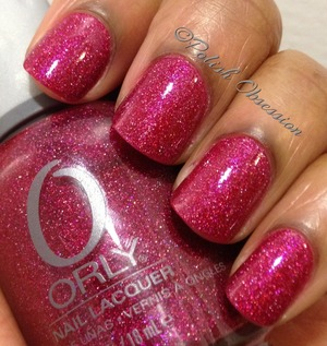 Beautiful red scattered holo