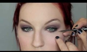 Dramatic Smokey Eyes for Red Heads