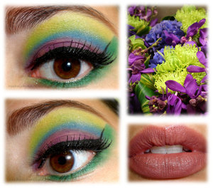 http://rachelshuchat.blogspot.ca/2012/08/colorful-flower-inspired.html