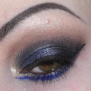 Trying out my new Urban Decay palette.