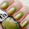 Mrs. P's Nail Potions - Green/Gold Shifty