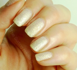 Swatch and review on the blog - http://thesortinghouse.co.uk/nails/barry-m-lady-textured-nail-effects-swatch-review/