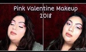 Pink Valentines Makeup 2018 | Velvet702