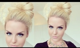 How To: Quick Messy Bun