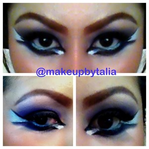 I have step by step for this look if any of you wants to see it cmmt  below