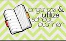 Organize and Utilize School Planner - School Tips