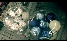 December Vlog Day 9 Christmas Decorations Shopping and Shatterproof Ornaments Hack