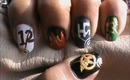 Hunger Games Collection Nail Design- Hunger Games Nails- Nail Art- Nail Designs Tutorial
