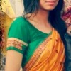 In saree :)