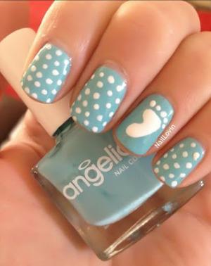 baby steps nail art