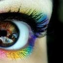 Rainbow Eye Shadow