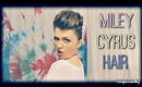 Miley Cyrus Halloween Hair Tutorial for Medium to Long Hair|Look Like You Have Short Hair!