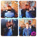 Multi dimensional color & stacked inverted bob
