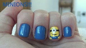 My sister love minions. So I decided to do it for her birthday, wich is tomorrow.