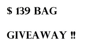 $139 Bag Giveaway !! (Open) -  The Route 66 Woven Leather Bag Black  - From BAGINC.COM