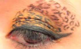 Leopard Print Eye Tutorial