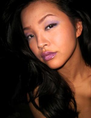 ::dAy 1:: PuRple LipS (more purple-y)