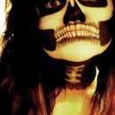 Halloween Skeleton Face