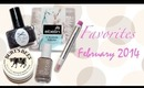 February Favorites 2014| Nail Polishes & More ♡