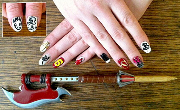 Halloween Nail Art: All About Buffy!