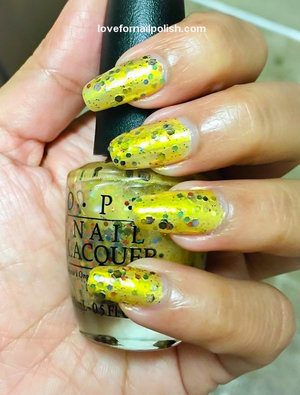 For Review and more swatches visit http://lovefornailpolish.com/opi-nail-polish-hawaii-collection-pineapples-have-peelings-too-swatches-and-review