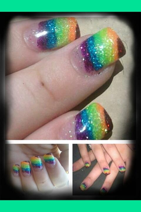 Gay Pride Nails Jade T S Photo Beautylish