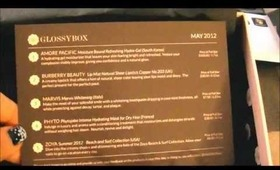 Glossybox US Unboxing - May 2012