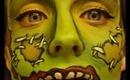 Halloween Series 2013: Frankenstein Face Painting Tutorial