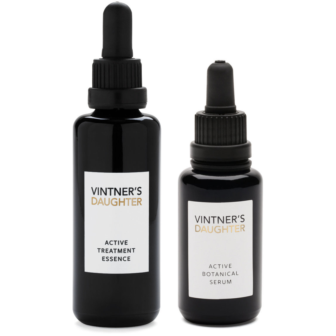 Vintner's Daughter Active Botancial Serum and Treatment Essence Bundle product smear.