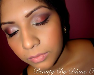 Makeup done by myself... All products used were MAC