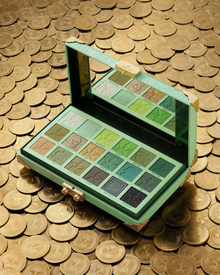 Alternate product image for Blood Money Palette shown with the description.