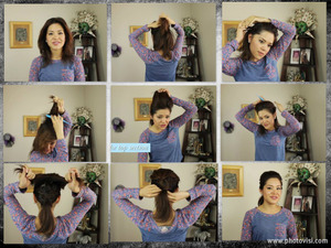 Hey ladies sorry for the wait but I am happy to show you how to do my Chick Ponytail for Spring time. Its easy! Just pick up the products if you dont already have them and take a few minutes to follow these short and easy steps from this video.  As always leave a comment and SUBSCRIBE =) and I am happy to answer any questions that you might have.