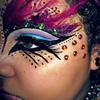 Tribal/Dark Fairy ♥ {Halloween makeup} ^▽^