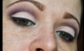 Purple Eye Makeup Using Wet'n'Wild Lust Palette